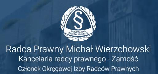 kancelaria radcy prawnego Michał Wierzchowski